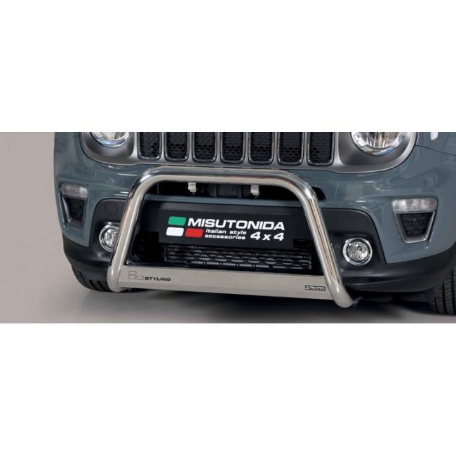 Jeep Renegade 2018 >> Bull Bar Jeep Renegade Misutonida Ec Med 447 Ix
