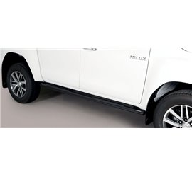 Trittbretter Toyota Hi Lux Double Cab GPO/410/PL