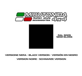 Bull Bar Mitsubishi L200 Double Cab Misutonida EC/MED/K/260/PL