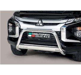 Bull Bar Mitsubishi L200 Double Cab EC/MED/460/IX