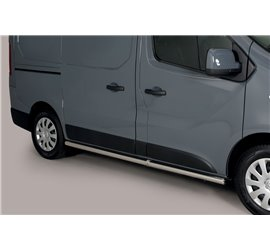 Side Protection Renault Trafic L1 (With Inox Caps) TPS/383/IX