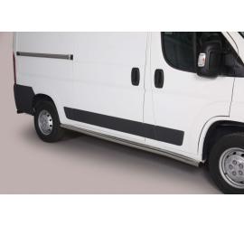 Protezioni Laterali Peugeot Boxer SWB