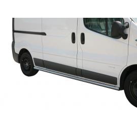 Seitenschutz Renault Trafic LWB (Mit Stahlkappen)