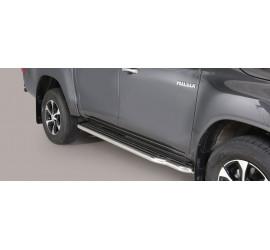 Trittbretter Toyota Hi Lux Double Cab