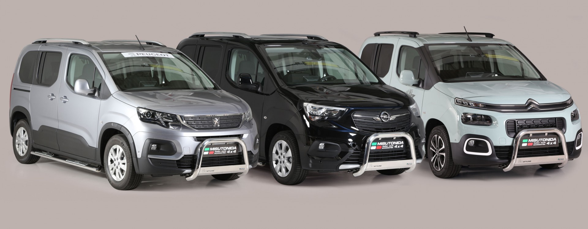 Opel Combo/Citroen Berlingo/ Peugeot Rifter Mod. MWB 2018>